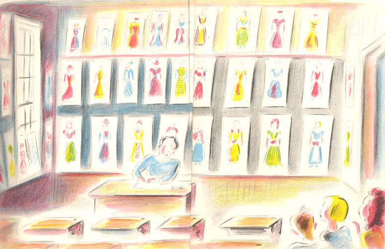 illustrazione tratta da I cento vestiti